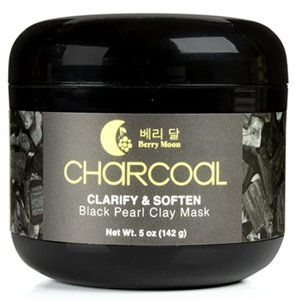 Anti-aging Charcoal Clay Mask for oily skin